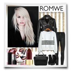 """""""ROMWE"""" by sabine-rose ❤ liked on Polyvore featuring Beauty Secrets"""