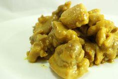 Pollo al curry: ricetta facile per farlo cremoso