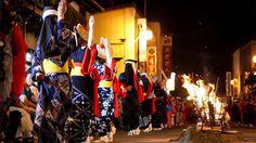 Nishimonai bon-dance, Akita, Japan@西馬音内盆踊り-秋田県
