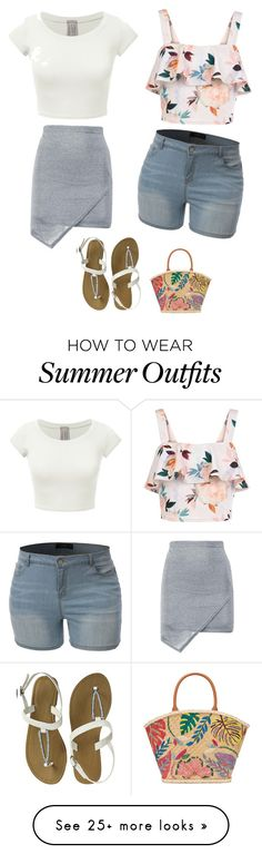 """""""Fun Summer Outfits"""" by lsantana13 on Polyvore featuring New Look and Tory Burch"""
