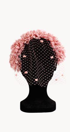 Alquiler Tocado Lady Moss | La sombrerera | 24FAB | 356