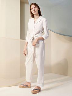 Cosstores.com | Shop @cosstores's white jumpsuit for an effortless yet elegant look
