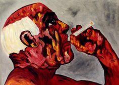 "Saatchi Online Artist CARMEN LUNA; Painting, ""24-PICASSO por Carmen LUNA. (66 años)"" #art   http://www.saatchiart.com/art-collection/Painting-Mixed-Media/PICASSO-por-Carmen-LUNA/71968/51466/view"