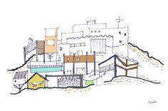 """Consultate il mio progetto @Behance: """"POSSIBLE CITIES""""…"""