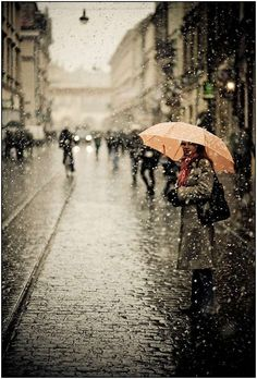 My absolute favorite time of the year is when it rains...love the sound of the rain and the wind in the trees.