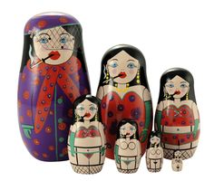 ahhhh, the sexy nesting dolls! sure to delight a child for hours :D