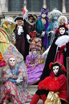 Visited Venice once, but not during the Carnival. It's definitely on my list.