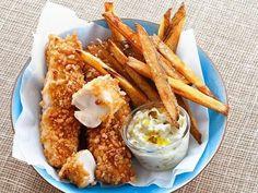 Batatas e peixe crocantes e assados | 31 versões assadas e bem mais saudáveis de comidas fritas