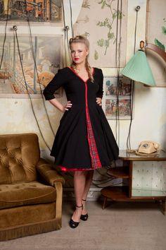 The zipper dress $120.00 by TicciRockabilly on Etsy