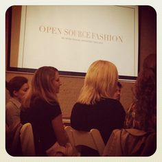 Open Source Fashion event