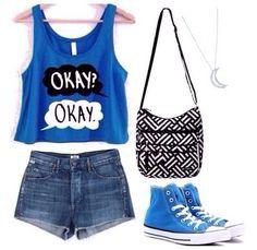 outfit para los dias de calor intenso