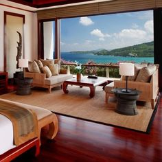 My ideal bedroom . and of course view ❤