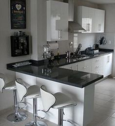 Cocinas Integrales Proyeccsa - Late Tutorial and Ideas Kitchen Room Design, Modern Kitchen Design, Home Decor Kitchen, Interior Design Kitchen, Kitchen Colors, Life Kitchen, Kitchen Furniture, Kitchen Ideas, Cuisines Design