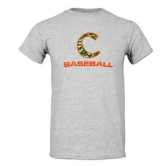 Clemson Tigers Digital C Baseball T-Shirt Clemson Baseball, Twins Baseball, Clemson Tigers, Baseball Field, Tigers Baseball, Tiger Clothing, Baseball Buckets, Tiger Store, Fantasy Baseball