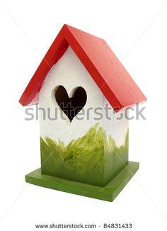 Nest Box Birdhouse House For Birds Stock Foto: 84831433 : Shutterstock