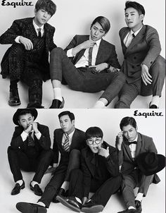 Block B in their suits and ties #sophisticatedSexy
