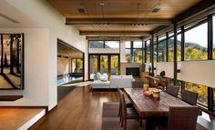 30 Idées De Décoration De Salon Avec Un Style Rustique. Home DesignModern  House ...
