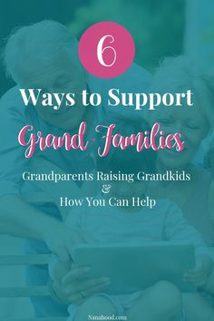 The number of grandparents raising their grandchildren continues to rise, especially with the opioid crisis affecting more families. Here are 6 ways you can help support grand-families. #grandfamilies #raisinggrandkids #grandparetsupport #opiioidcrisis