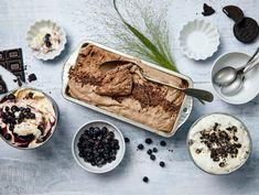 Mökkijäätelö | Valio Oreo, Acai Bowl, Oatmeal, Ice Cream, Candy, Breakfast, Desserts, Recipes, Food