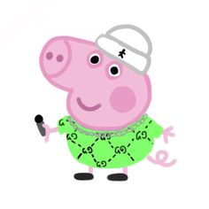 Iphone Wallpaper Vsco, Cartoon Wallpaper Iphone, Cute Wallpaper Backgrounds, Funny Wallpapers, Aesthetic Iphone Wallpaper, Peppa Pig Funny, Peppa Pig Memes, Peppa Pig Stickers, Peppa Pig Wallpaper