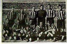 CLUB ATLÉTICO PEÑAROL, CAMPEÓN DEL AÑO DE 1932.