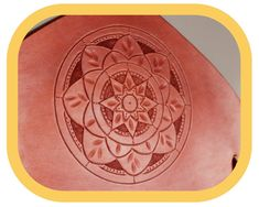 Paper Towel Holder – Kitchen Décor – Home Décor – Hand tooled Leather – Wood details – Handcrafted Leather Tooling, Tan Leather, Paper Towel Holder Kitchen, Kitchen Fabric, Festival Accessories, Wood Detail, Leather Pieces, Mandala Pattern, To Color