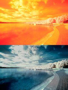 Fotograsfowanie w podczerwieni, filtr IR