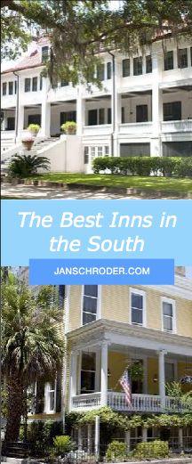 Best Inns in the South l best hotels in the South l Greyfield Inn l Greystone Inn l Carolina Inn l Blackberry Farm