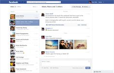 Play 3D Map Blog: The new look for Facebook Messages