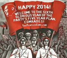 Happy 2014: the sixth glorious year of the Five-Year Plan