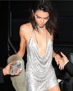 Kendall Jenner celebrating her 21st birthday in LaBourjoisie.