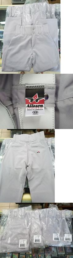Baseball Pants 181349: Lot Of 4 New In Package Alleson Brand Baseball Pants Youth Size Extra Small Xs -> BUY IT NOW ONLY: $39 on eBay!