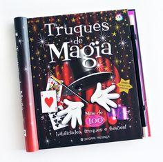 Este fantástico livro de truques de magia vai ensinar-te a ser um grande mágico.
