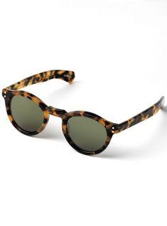 56bb5285010 Bold Round Sunglasses in Dark Tortoise