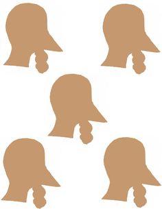 Turkey head template2.jpg (1019×1319)