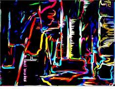 neon city skyline #brightlightsbigcity #millyny
