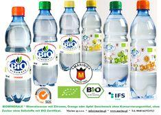 MARINO BIOMINERALE * Mineralwasser mit Zitronen, Orange oder Apfel Geschmack ohne Konservierungsmittel, ohne Zucker ohne Süßstoffe mit BIO Zertifikat.  Marino sp.z.o.o. Tel. 0048 661921513 * info@marino.pl  www.marino.pl