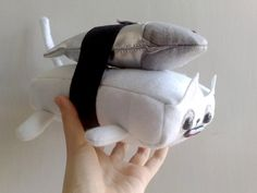 The sushi maguro cat by zeropumpkin on Etsy, $43.00