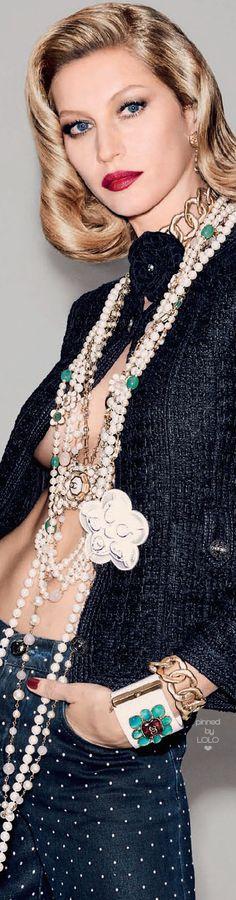 Gisele Bündchen by Francois Nars for Vogue Brazil | LOLO❤︎