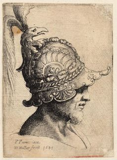 Helmet with eagle — Parmigianino (1645)