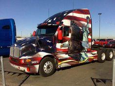 truck ////////////// Big Rig Trucks, Semi Trucks, Cool Trucks, Cool Cars, Custom Big Rigs, Custom Trucks, Kenworth Trucks, Pickup Trucks, Tribal Turtle Tattoos