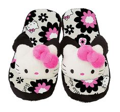 SANRIO HELLO KITTY ROOM FLUFFY SLIPPERS SHOES ADULT MEDIUM BLOSSOM | eBay