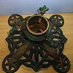 Antique German Christmas Tree Stand