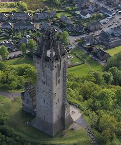 William Wallace Monument ~ Stirling, Scotland