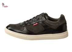 Sneakers Perris Oxford Levis hommes, des mocassins en cuir - Dull Grey: : 11 UK - Chaussures levis (*Partner-Link)