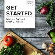 Get Started Can and Cannot Freeze