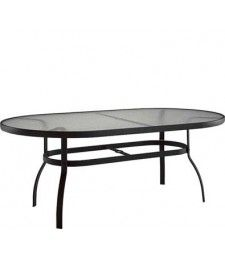 "Deluxe 42"" x 74"" Dining Table - Obscure Glass"