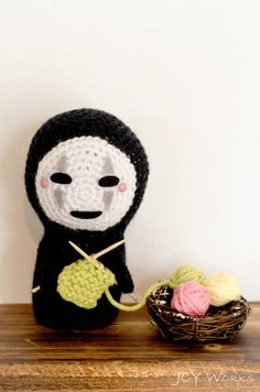 Kaonashi (No-Face) from Spirited Away - CROCHET