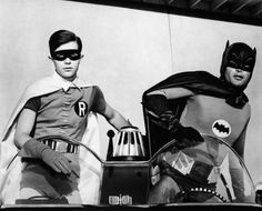 Batman and Robin. The dynamic duo