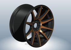 RIM R18 J9.5 ET30 - STEP / IGES,Parasolid - 3D CAD model - GrabCAD